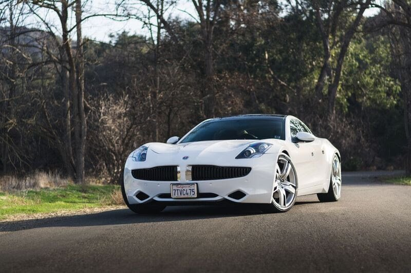 2012 Fisker Karma in Shadow over Black Sand Monotone