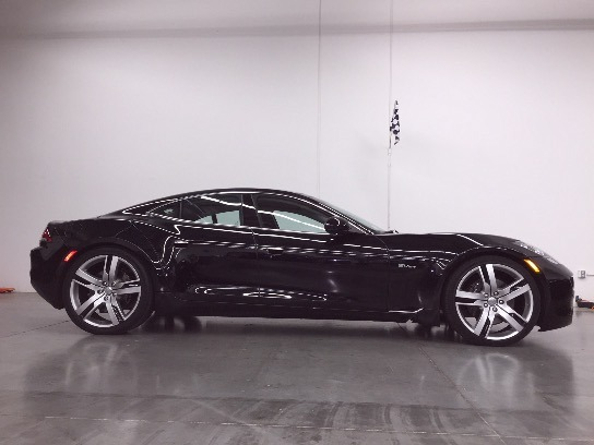 2012 Fisker Karma in Eclipse over Black Sand Monotone