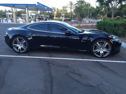 2012 Fisker Karma EcoSport in Eclipse over Black Sand Monotone