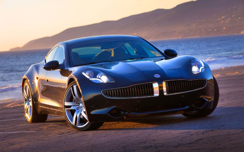 2012 Fisker Karma in Eclipse over Monsoon Tri-Tone