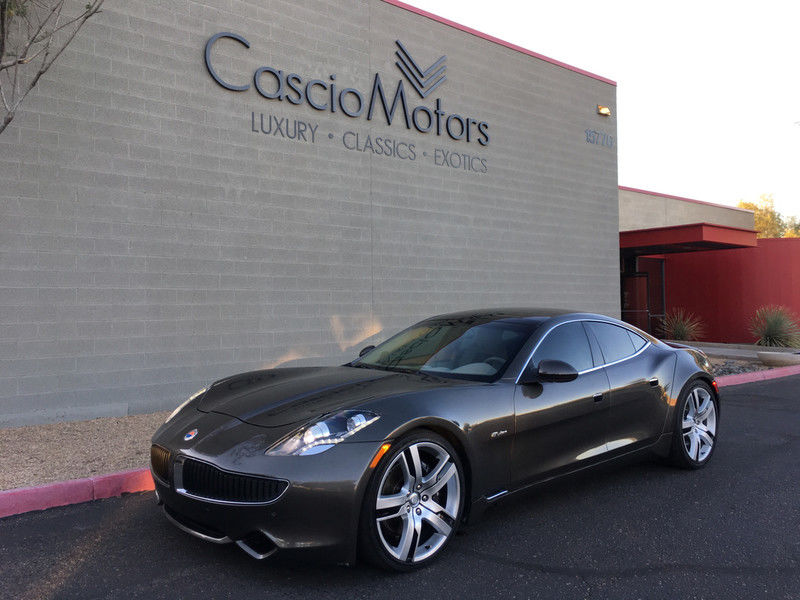 2012 Fisker Karma in Earth over Earth Tri-Tone