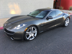 2012 Fisker Karma EcoChic in Earth over Earth Tri-Tone